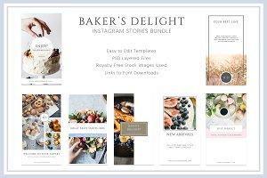 Bake Style Instagram Stories Bundle