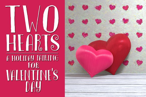 Two Hearts Valentine's Day Image