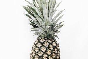 Pineapple, fresh fruit, summertime