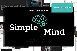 Simplemind Powerpoint Template