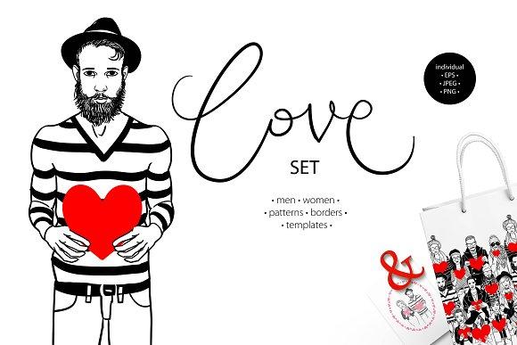 """Love"" set"