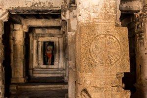 Forgotten underground temple