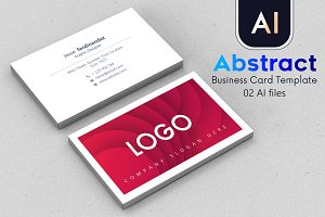 Abstract Business Card Template - 42