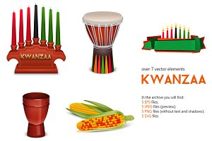 Kwanzaa Holiday set