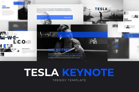 TESLA Keynote Template