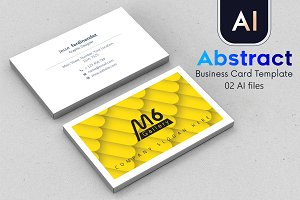 Abstract Business Card Template - 46