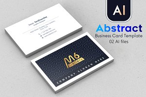 Abstract Business Card Template - 48