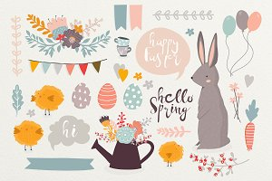 Spring&Easter clipart