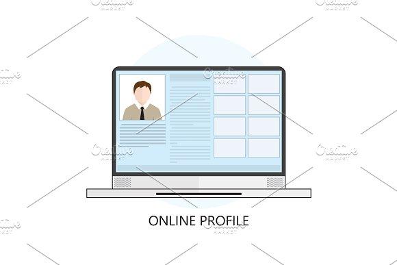 Online Profile Rezume Portfolio