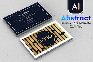 Abstract Business Card Template - 49