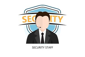 Icon of Security Staff