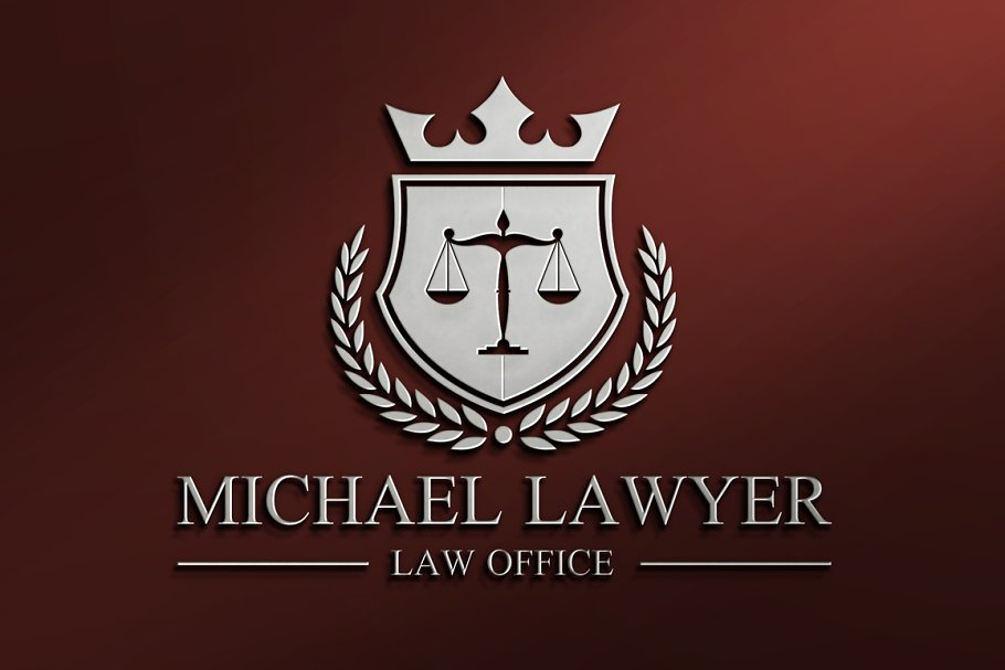 Law Firm Logo Template Templates Creative Market