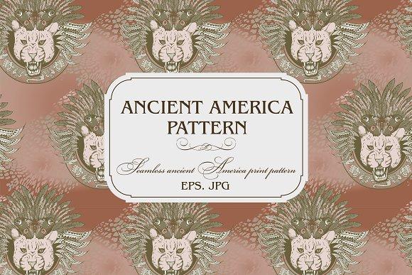 ANCIENT AMERICA PATTERN