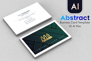 Abstract Business Card Template - 51