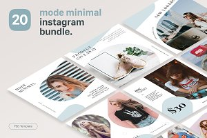 Instagram Template - Mode Minimal