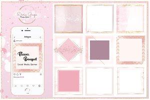 Social Media Pack/Instagram/Flower
