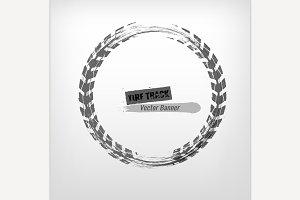 Tire Grunge Frame