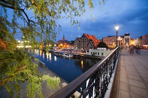Bydgoszcz City By Night