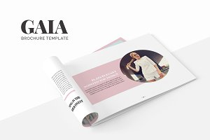 Gaia Brochure Template