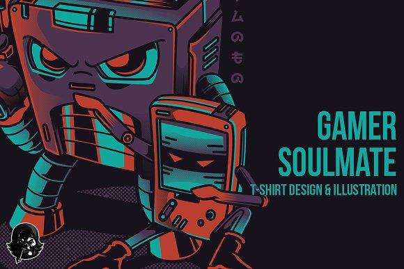 Game Soulmate Illustration