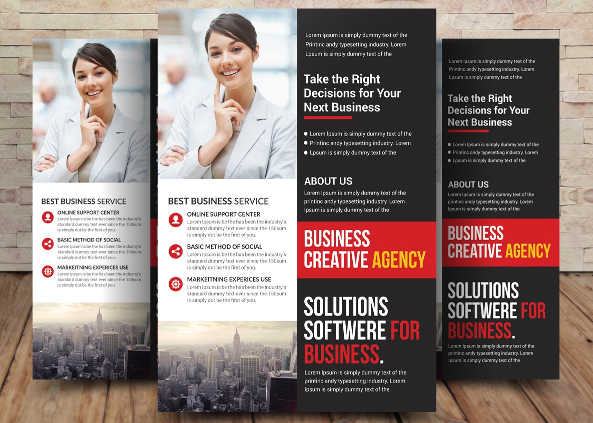 Tax refund flyer template flyer templates creative market accounting and tax preparation flyer fandeluxe Images