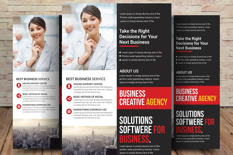 Accounting And Tax Preparation Flyer Flyer Templates Creative Market