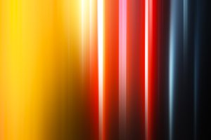 Vertical colorful curtains bokeh background
