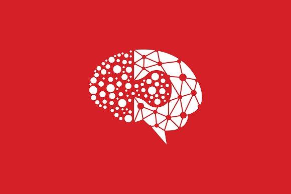Red Brain Logo