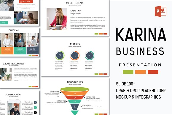 Karina Business Powerpoint