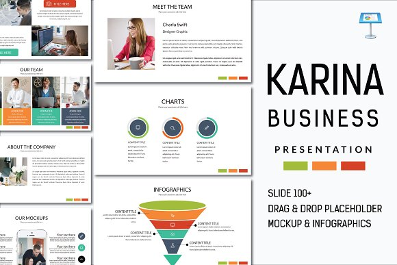 Karina Business Keynote-Graphicriver中文最全的素材分享平台