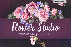 Flower Studio Clipart