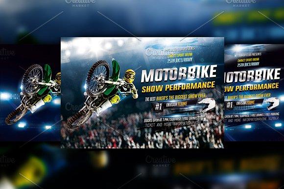 Motorbike Show-Graphicriver中文最全的素材分享平台