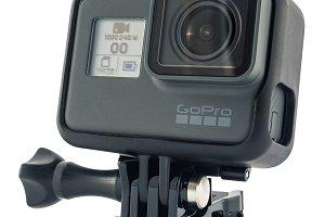 GoPro HERO 6 Black isolated
