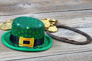 Good Luck hat for St Patrick