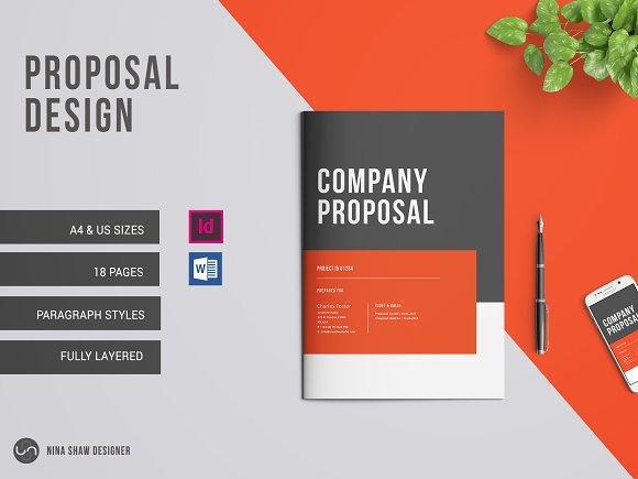 Company Proposal-Graphicriver中文最全的素材分享平台