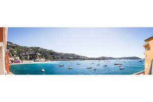 Villefranche, Cote D'azur, France: Seaside Panorama