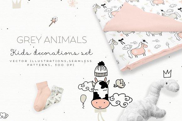 Grey Animals