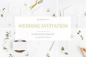 Wedding Invitation Styled Stock