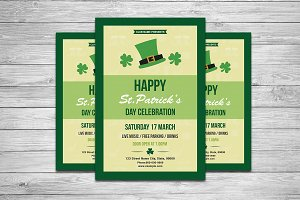 St. Patrick's Day Flyer-V732