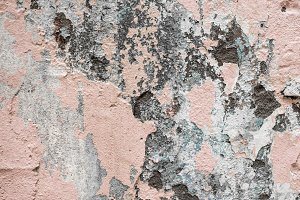 Old and beautiful concrete wall