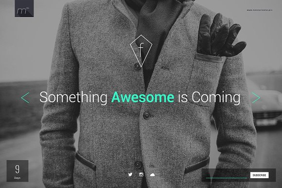 Fashion Coming Soon Template