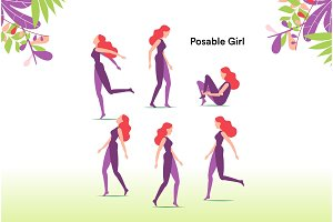 Posable Girl