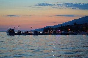 Sunset in Paklenica