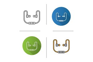 Earphones icon