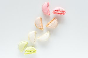 Colorful Macaron Stock Photo