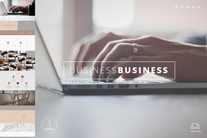 Business - One Page Template HTML