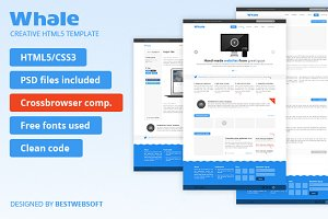 Whale - Creative HTML5 Template