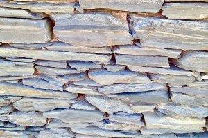Shale Stone Wall, Spain