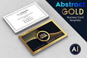 Abstract Business Card Template - 52