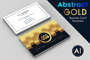 Abstract Business Card Template - 54